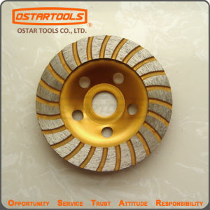 Stone Concrete Diamond Disc Turbo Cup Grinding Wheel pictures & photos