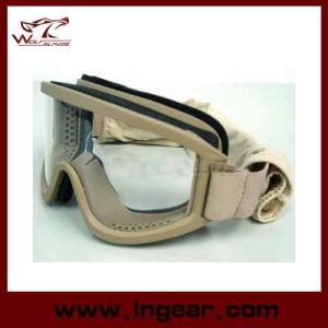 Airsoft X500 Swat Tactical Goggle Glasses for Helmet Goggles pictures & photos