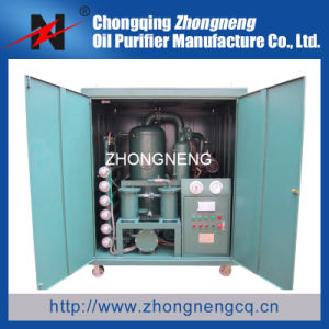 Mobile Type Double-Stage Vacuum Transformer Oil Purification Machine pictures & photos