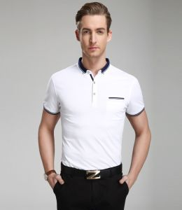 OEM 2015 Custom Cheap High Quality Polo Shirt for Men pictures & photos