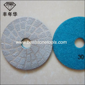 Bd-1 Diamond Brazed Polishing Pad pictures & photos