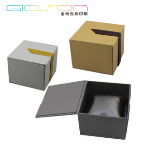 Fancy Paper Folding Gift Watch Packaging Box pictures & photos