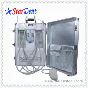Portable Dental Unit with High and Low Speed Handpiece pictures & photos