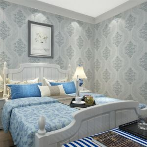 Seamless Luxury Classic Embossing Wallpaper Fabric Bedroom Livingroom pictures & photos