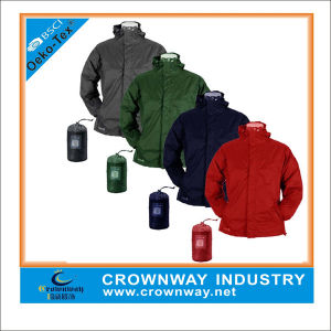 Lightweight Quilted Waterproof Packway Jacket for Men pictures & photos