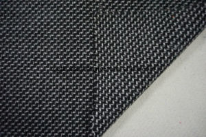Black & White Wool Fabric Weave pictures & photos