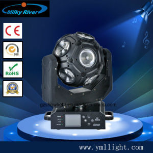 New Arrival DMX512 21CH DJ 12X20W Football LED Moving Head Light/ RGBW 4in1 Nightclub Disco LED Light pictures & photos