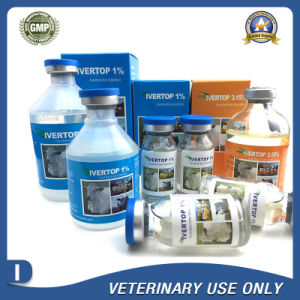 Veterinary Drugs of 1% Ivermectin Injection (10ml/50ml/100ml) pictures & photos