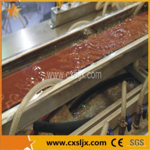 Ce Approved Wood Plastic Profile Production Line pictures & photos