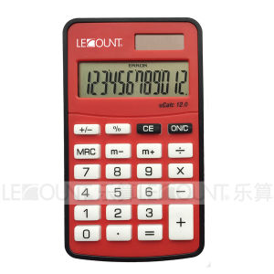 10 Digits Dual Power Mini Size Pocket Calculator with Various Optional Colors (LC360A)