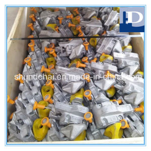Forged Steel Hot DIP Galvanized Marine Semi-Automatic Twistlock pictures & photos