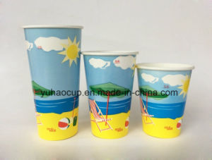 Single Wall PE Paper Drink Cup pictures & photos