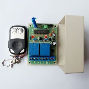 RF Receiver and Remote Control Set for Door Opening pictures & photos