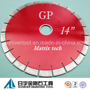 "Gp 14""*20mm Diamond Cutting Tools, Bridge Saw Blade pictures & photos"
