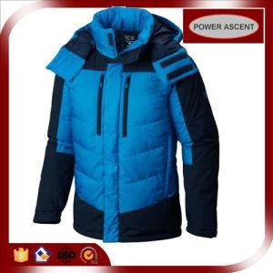 2015 Mens High Quality Heavy Fill Down Padded Winter Jacket pictures & photos