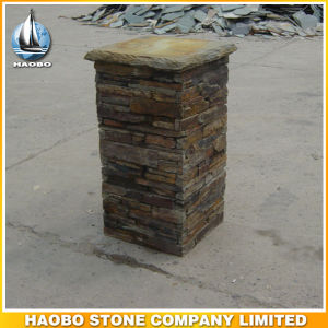 Wholesale Ledge Pillar Cultural Stone Column pictures & photos