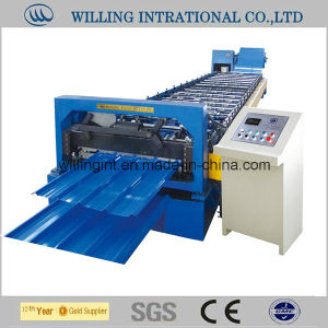 Cheap Color Coated Steel Wall Roll Forming Machinery Making pictures & photos