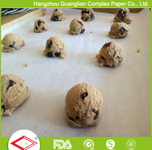 Food Oven Safe Bakeries Supply Baking Paper Sheets pictures & photos