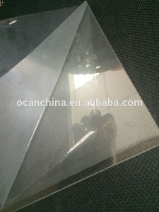 Clear Pet Sheet with One Side Protection Film pictures & photos