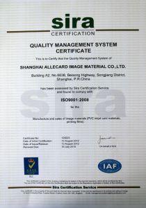 Transparent Business Card Printable PVC Core Sheet/ PVC Card Material pictures & photos