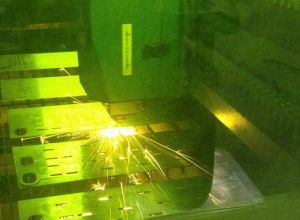 Cutting Machine Parts / Sheet Metal Laser Cutting Wordart Parts pictures & photos