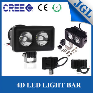 Motorcycle Automotive Auxiliary Parts 20W CREE LED Work Light