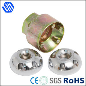 Four Holes Stainless Steel Anti-Theft Nuts with High Catbon Steel Banner pictures & photos
