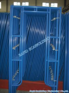 Steel Metal Walkthrough H Frame Scaffolding Made in China pictures & photos