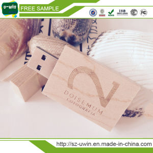 Real Chip Wooden USB Flash Drive 2GB 4GB 8GB 16GB pictures & photos