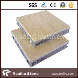 SGS Certificated Marble Stone Composite Tile for Wall/Floor pictures & photos