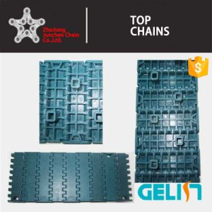 900y-003 Series Plastic Packing Machine Flat Top Chain Scarp Conveyor Belt pictures & photos