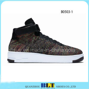 Colorful High Top Sneaker Shoes pictures & photos