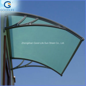 Clear 4mm6mm Twin Wall Hollow Sheet Polycarbonate Roofing Sheet Price pictures & photos