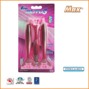 Good Quality Stainless Steel Blade Disposable Shaving Razor (LA-8624) pictures & photos