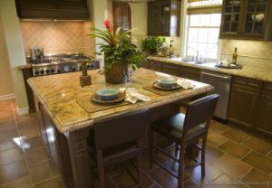 Dark Walnut Kitchen Cabinets (dw51) pictures & photos