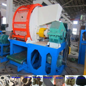 High Efficiency Whole Tyre/Tire Shredder Machine for Used Tires pictures & photos