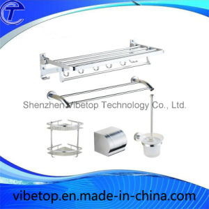 High Quality Stainless Steel Multi-Function Towel Racks with Hooks (TR-04) pictures & photos