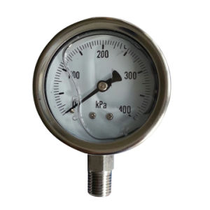 Oil Filled Ss Vacuum Pressure Gauge B-0104