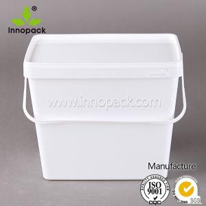 3.7L Rectangular Plastic Bucket pictures & photos