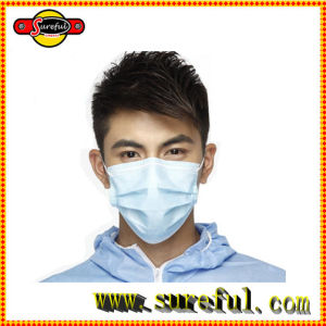 Disposable Earloop Non Woven Face Dust Mask PP Mask pictures & photos