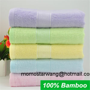 Promotional Bamboo Bath Towel with Multi Colours pictures & photos