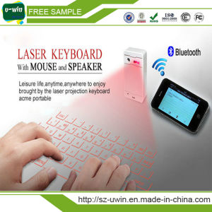 Wireless Bluetooth Laser Virtual Keyboard Qwerty with High Quality pictures & photos