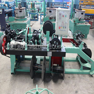 Positive and Negative Twisted Barbed Wire Making Machine pictures & photos