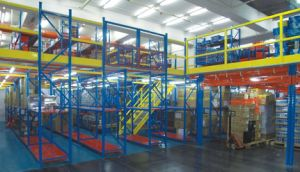 Warehouse Metal Storage Multi-Tier Mezzanine Rack pictures & photos