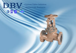 Ce Approval Casting Wcb PTFE Rubber Seated Globe Valve
