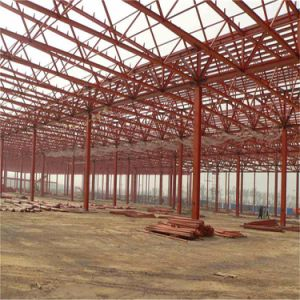 Prefabricated Steel Framework Factory Plant Warehouse Shed pictures & photos