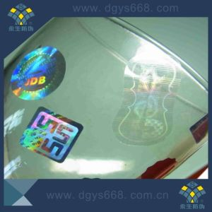 Custom High Quality Hologram Sticker Factory Use for Bottle pictures & photos