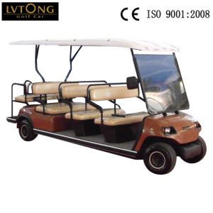 China 11 Person Battery Powered Electric Vehicle (Lt-A8+3) pictures & photos