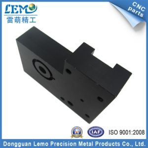 Precision OEM CNC Machinery Machined Parts with Black Anodized (LM-1164A) pictures & photos
