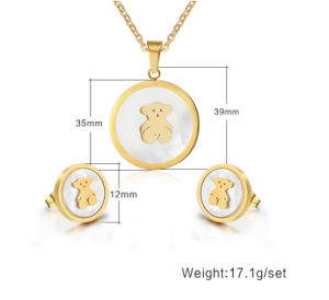 Fashion Jewelry Stainless Steel Jewelry Set (hdx1085) pictures & photos
